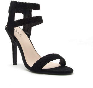 Qupid Womens Heeled Sandals