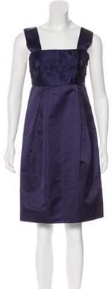 Calvin Klein Collection Silk Pleated Dress Silk Pleated Dress