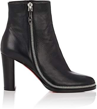 Christian Louboutin Women's Telezip Leather Ankle Boots