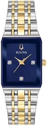 Bulova Women's Two-Tone Diamond-Accent Watch