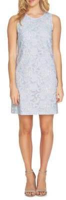 CeCe Sleeveless Lace Sheath Dress