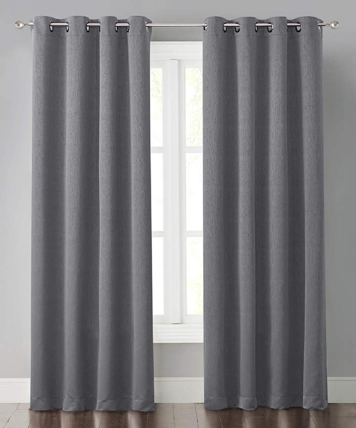 Gray Miko Curtain Panel