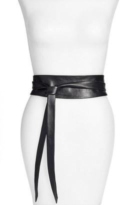 Women's Ada Handmade Leather Wrap Belt $87 thestylecure.com