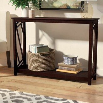 Andover Mills Melinda Wood Console Table