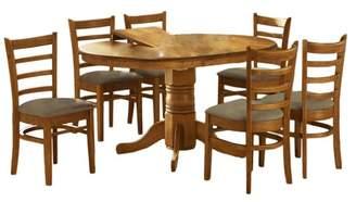 Bennett 4 Seater Extendable Dining Table Set