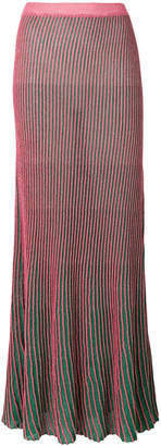 L'Autre Chose ribbed skirt