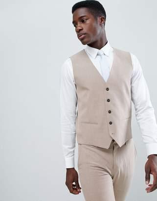 Selected Super Skinny Wedding Vest