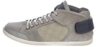 Louis Vuitton Damier Suede Sneakers