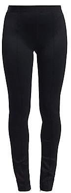 bf030e7fd3b5d1 Helmut Lang Women's Double Needle Rib-Knit Leggings