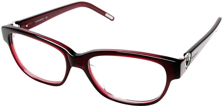 Purple Tapered Square Eyeglasses
