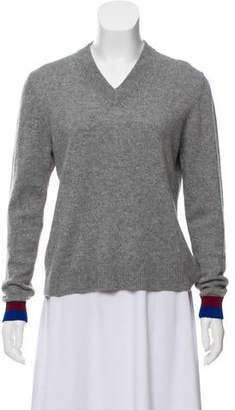 Kule Cashmere V-Neck Sweater