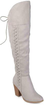 Journee Collection Spritz Over The Knee Boot - Women's