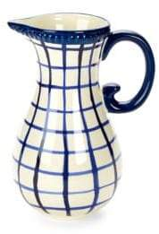 Check Ceramic Pitcher