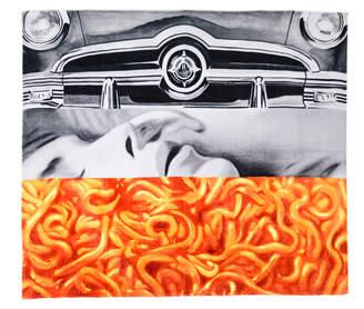 Art Production Fund James Rosenquist Artist Beach Towel