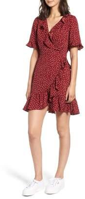 Heartloom Brenna Polka Dot Wrap Dress