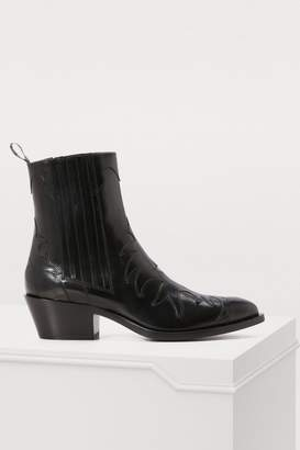 Sartore Flamm leather ankle boots