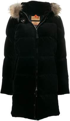 Parajumpers Sindy hooded velvet coat