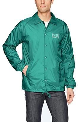 Obey Men's Eyes Nylon Coaches Jacket