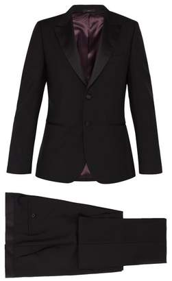 Paul Smith Soho Wool And Mohair Blend Suit - Mens - Black
