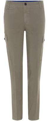 Tory Burch Sierra Chino cotton trousers