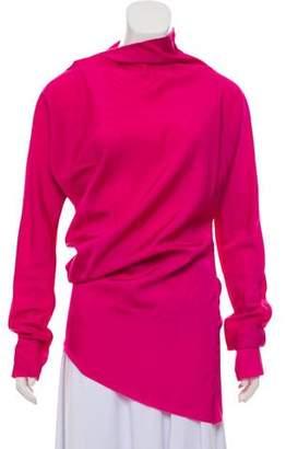 Yang Li Asymmetrical Long Sleeve Top