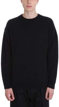 Laneus Black Cashmere Sweater