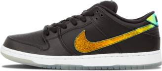 Nike Dunk Low Pro SB 'Oil Spill' - Black/White