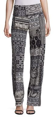 Fuzzi Laced Palazzo Pants $435 thestylecure.com