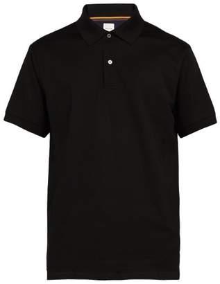 Paul Smith Dreamer Cotton Pique Polo Shirt - Mens - Black