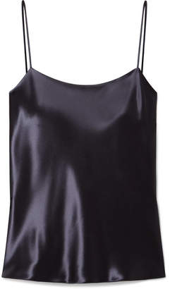 The Row Biggins Satin Camisole - Indigo