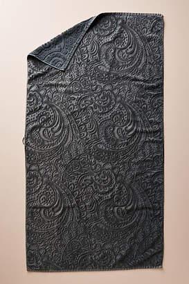 Kassatex Francesca Sculpted Paisley Towel Collection