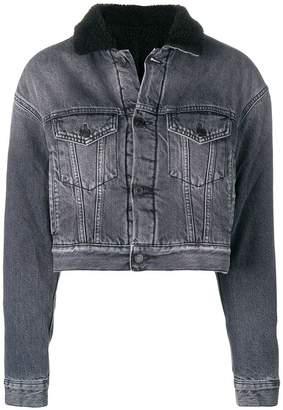 Marcelo Burlon County of Milan fitted denim jacket