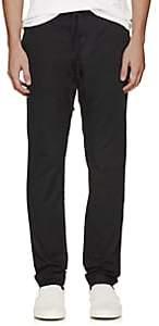 Tomas Maier MEN'S COTTON TWILL TROUSERS - BLACK SIZE L 00505059362821
