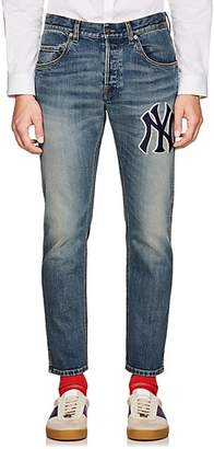 Gucci Men's NY YankeesTM Slim Jeans - Blue