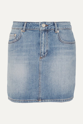 Ganni Denim Mini Skirt - Light denim