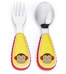 Skip Hop Marshall Monkey Zoo Utensil Set