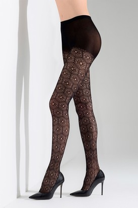 Natori Net Medallion Tights