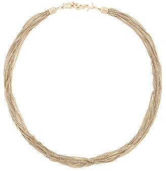 Saint Laurent LouLou twisted necklace