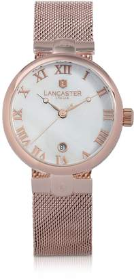 Lancaster Chimaera Rose Gold Stainless Steel Watch