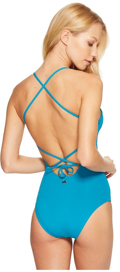 Roxy - Strappy Love One-Piece Swimsuit Women's Swimsuits One Piece