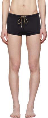 Paul Smith Black Stretch Mini Swim Shorts