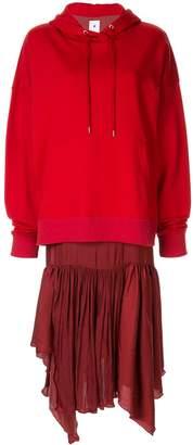 Puma Maison Yasuhiro oversized hoodie dress