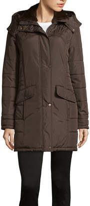 KC Collections Hooded Puffer Jacket