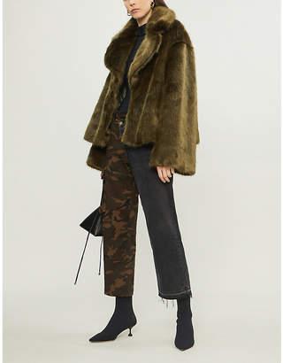 Nili Lotan Sedella faux-fur jacket