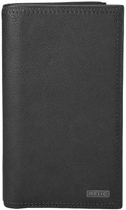 JCPenney RELIC Relic Mark Leather Checkbook Wallet