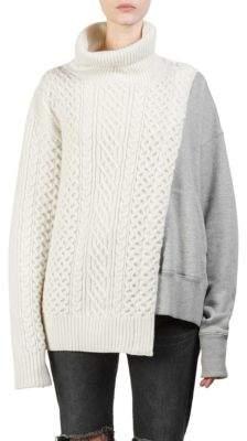 Sacai Wool Sweatshirt Pullover