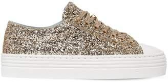 Chiara Ferragni 40mm Flirting Eye Glittered Sneakers