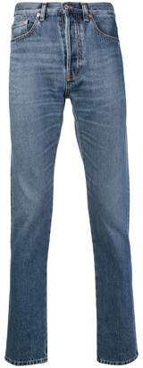 Valentino washed slim fit jeans