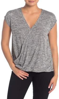 Rachel Roy COLLECTION Knit Wrap T-Shirt