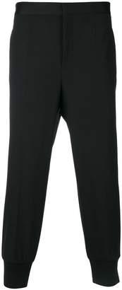 Neil Barrett tapered track trousers